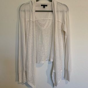 American Eagle Featherweight Hooded Sweater Sz M